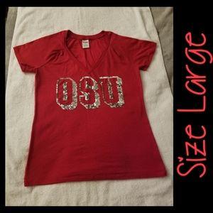 ☆SOLD☆VS PINK OSU Tshirt Size Large